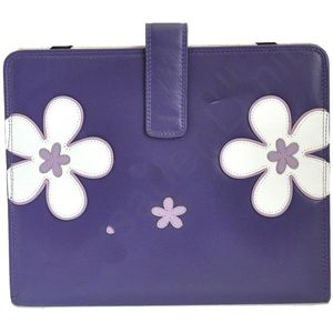 Mala Leather Enya Tablet Holder - Purple