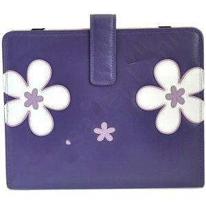 Mala Leather Enya Tablet Holder - Purple