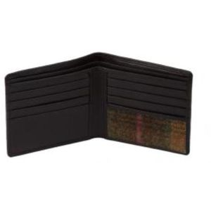 Mala Leather Abertweed Basic Wallet - Green Tweed