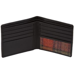 Mala Leather Abertweed Basic Wallet - Orange Tweed