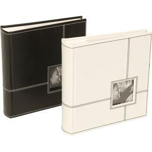 "Sonata Classic Photo Album (White) 200 Photos 6x4"""