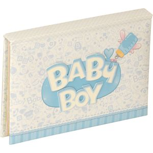 Baby Blue Mini Photo Album 6x4""