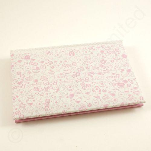 Kenro Pink Baby Girl Mini Photo Album