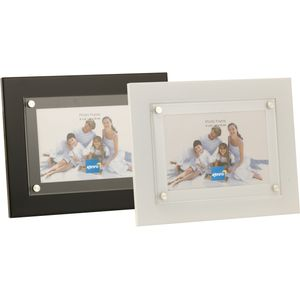 Strata Black Modern Photo Frame 6x4""