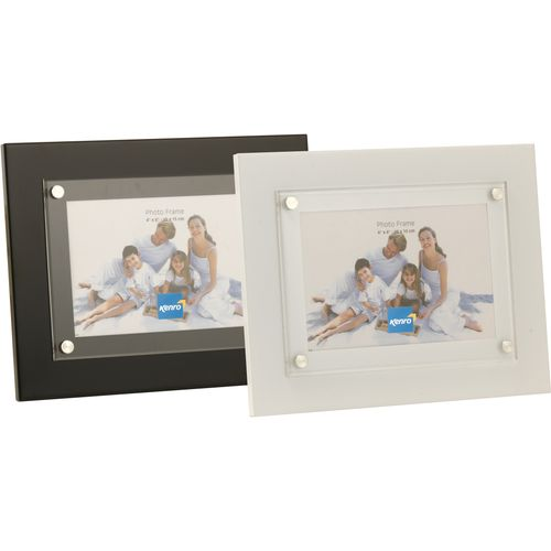 """Kenro Strata Collection Modern Photo Frame 7"""" x 5"""" - White"""