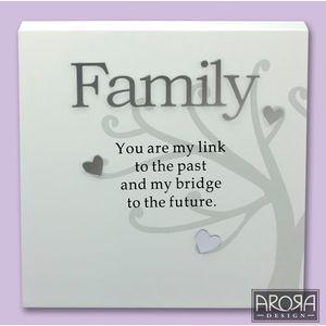 Art of Arora Family Sentiment Wall Art