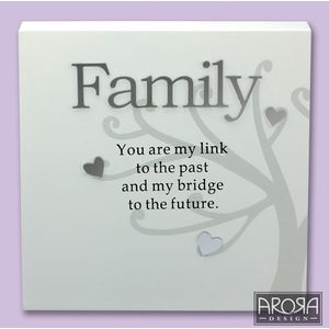 Art of Arora Sentiment Wall Art - Family