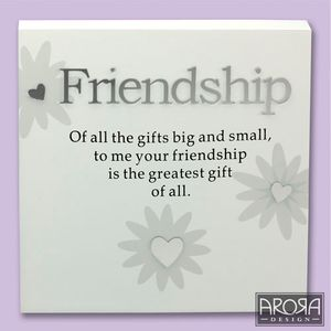Art of Arora Sentiment Wall Art - Friendship