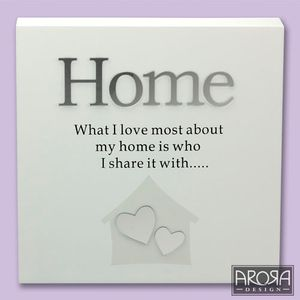 Art of Arora Sentiment Wall Art - Home