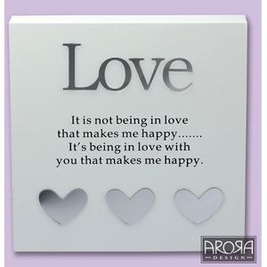 Art of Arora Sentiment Wall Art - Love