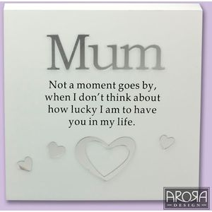 Art of Arora Sentiment Wall Art - Mum