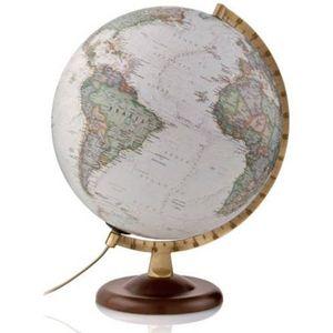 Gold Executive Illuminated Geographical Globe