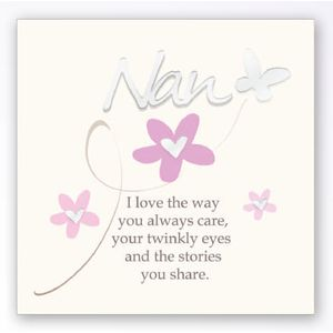 Art of Arora Sentiment Wall Art - Nan