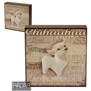 My Pedigree Pals Chihuahua Dog Wall Art