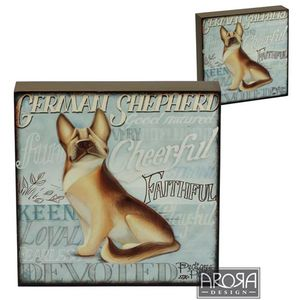 My Pedigree Pals German Shepherd Dog Wall Art