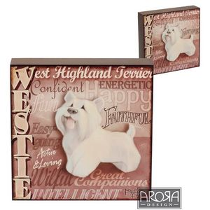 My Pedigree Pals Westie Dog Wall Art