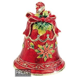 Craycombe Trinkets Christmas Bell Trinket Box