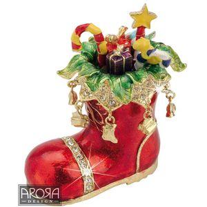 Craycombe Trinkets Santa Boot Trinket Box