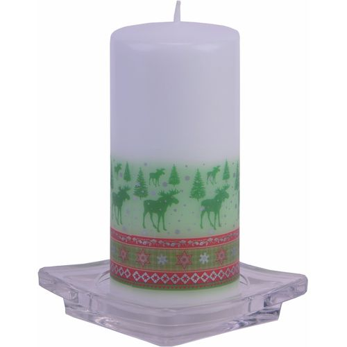 Nordic Christmas  Pillar Candle