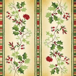 Christmas Napkins 20 Pack - Festive Holly