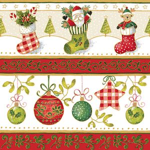 Festive Delight Pack of 20 three ply Printed Serviette