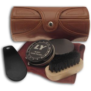 Shoe Kit - Brown Barrel