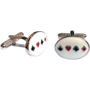Playing Card Suit Cufflinks