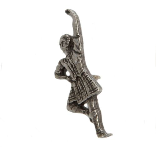 Scottish Dancer  Lapel or Tie Pin made from English Pewter