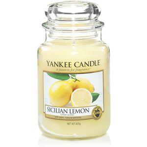 Yankee Candle Large Jar Sicilian Lemon