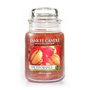 Yankee Candle Large Jar Spiced Orange Scent