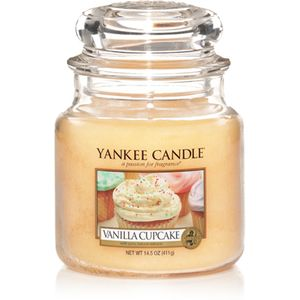 Yankee Candle Medium Jar Vanilla Cupcake Scent