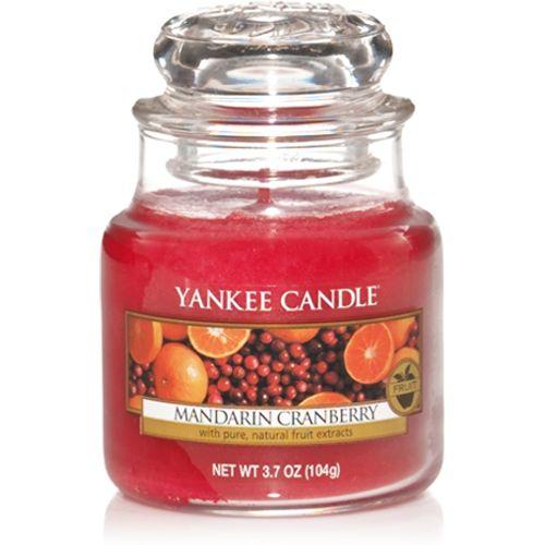 Yankee Candle Small Jar Mandarin Cranberry