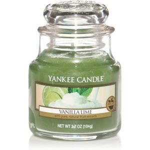 Yankee candle Small Jar Vanilla Lime Scent