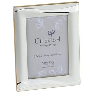 "Arthur Price Kitchen Cherish Trent Photo Frame 3.5"" x 5"""