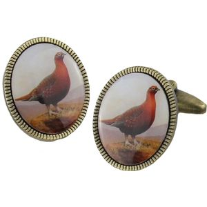The Famous Grouse Vintage Cufflinks