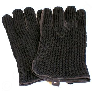 String Back Lambskin Gloves