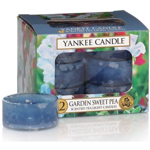 Yankee Candle Tea Lights 12 Pack - Garden Sweet Pea