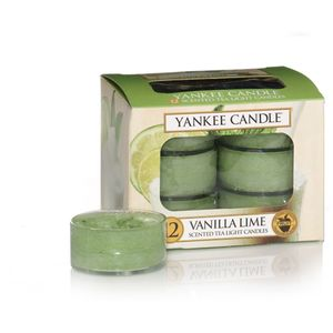 Yankee Candle Tea Lights 12 Pack - Vanilla Lime