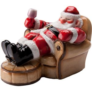 John Beswick Father Christmas Takes a rest Figure