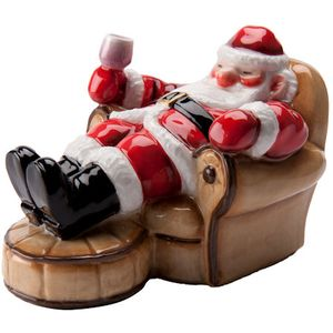 John Beswick Father Christmas Takes a Rest Figurine