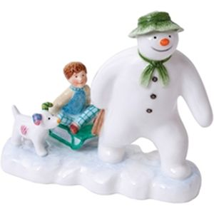 John Beswick The Snowman Collection: Billy and the Snowdog