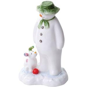 John Beswick The Snowman: Snowman & Snowdog