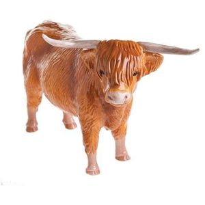 John Beswick Highland Cow Figurine