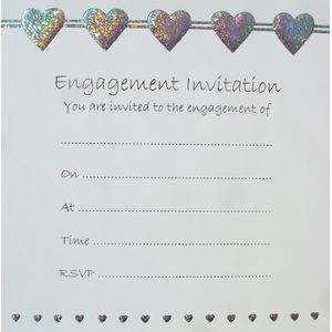 Engagement Invitations qty x50