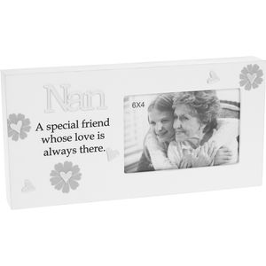 "Reflections Photo Frame 6x4"" - Nan"