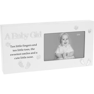 "Reflections Photo Frame 6"" x 4"" - A Baby Girl"