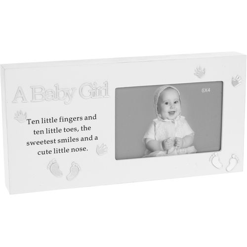 A Baby Girl Reflections Photo Frame