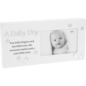 "Reflections Photo Frame 6x4"" - A Baby Boy"