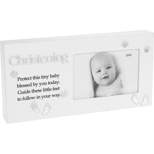"Christening Reflections Photo Frame 6"" x 4"""