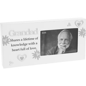 Grandad Reflection Photo Frame